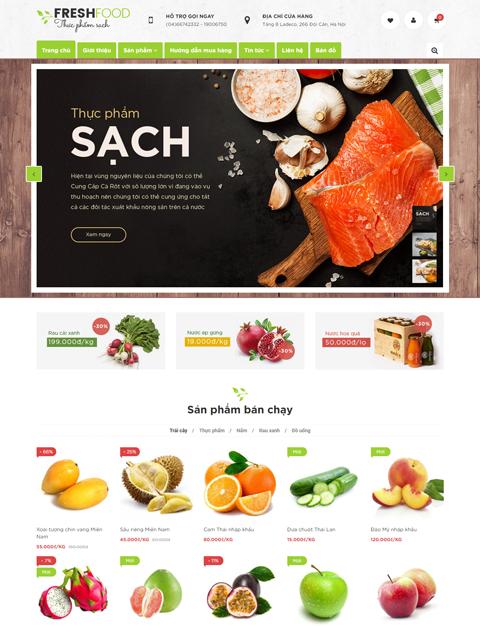 Fresh Food - Thực phẩm sạch